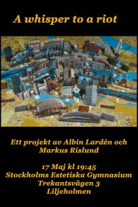Markus Albin konsert