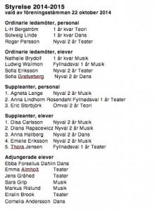 Styrelsen 14-15